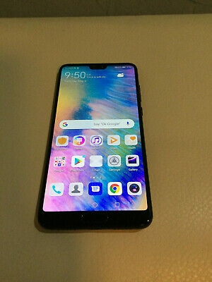 HUAWEI P20 Pro 6GB+128GB Black Single Card Unlocked Dual Band Quad Band