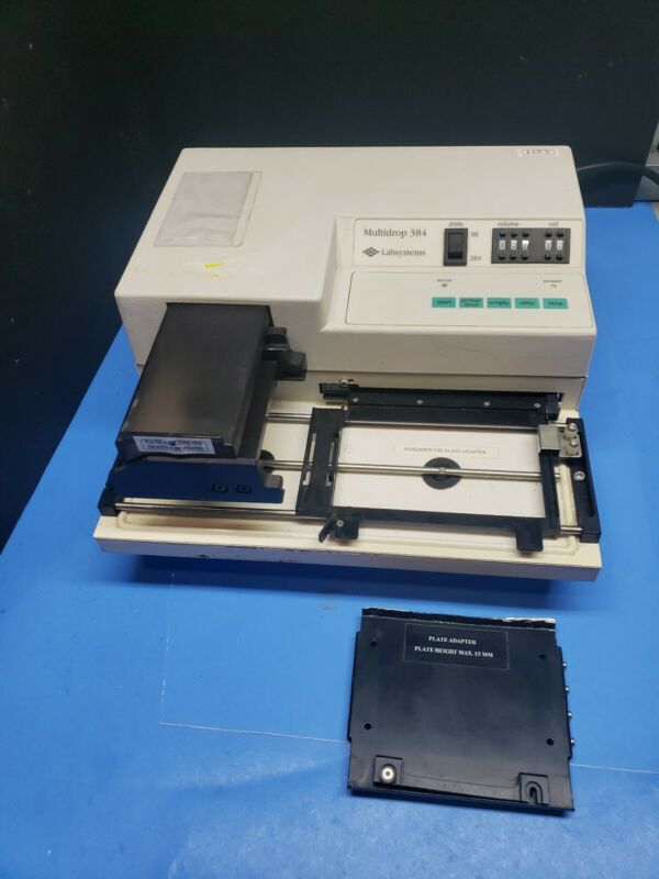 Thermo Labsystems Multidrop 384 Reagant Microplate Dispenser 96 0r 384