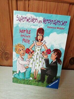 Gebraucht, Marlas verflixte Fälle - Superhelden und Herzensbrecher von Vanessa Walder gebraucht kaufen  Hessisch Lichtenau