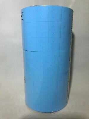 Genuine Monarch 1136 Light Blue Labels 8 Rolls - Custom Color