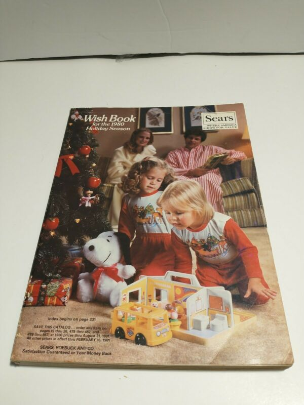 1980 Sears Wish Book Christmas Catalog Empire Strikes Back Video Games Barbie