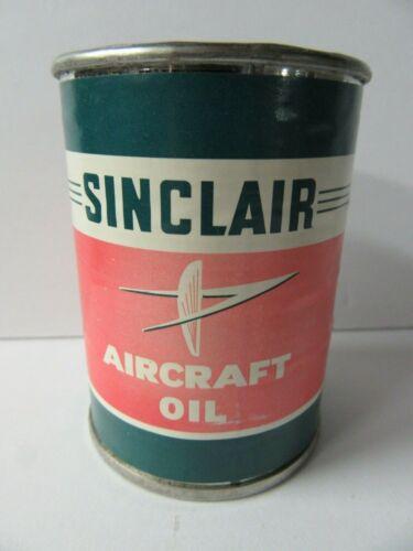 Vintage Metal Sinclair Aircraft Oil Bank - GL18
