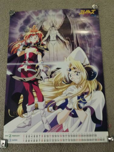 """The Slayers TRY Vol 7 1998 Calendar Poster 20"""" x 28.5""""."""