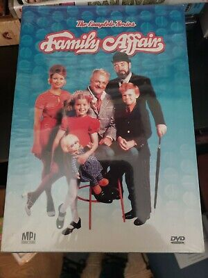 Family Affair - The Complete Series (DVD, 2008, 24-Disc Set)