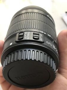 New Canon lens 18-55 mm