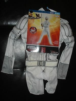 GI Joe storm Shadow Halloween Costume boys S 6 small Disguise - Storm Shadow Halloween Costume