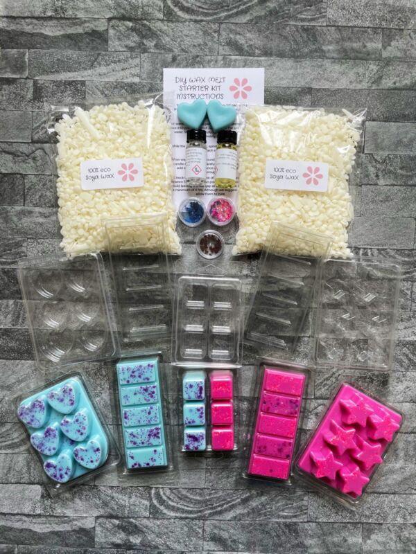 DIY Wax Melt Kit, Extra Large Set Make Your Own Melts, Craft Kit Teens Adults