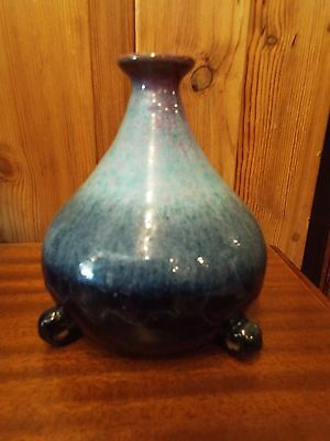 FABRILE STUDIOS ART POTTERY VASE BIG BEAR CALIFORNIA NR