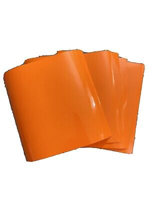 Vinyl Cricut Oracal High Performance Cast 751-034 5 12x12 Sheets Orange