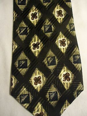 Talbott Best of Class G B Harb & Sons Brown Diamonds Silk Tie 56.5