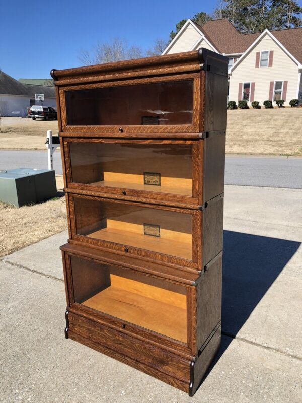 Rare Oak Globe Wernicke Barrister Bookcase