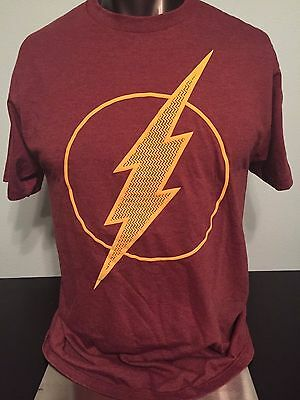 THE FLASH Barry Allen CW TV Show Justice League JLA Movie Runner MEN'S T-Shirt ()