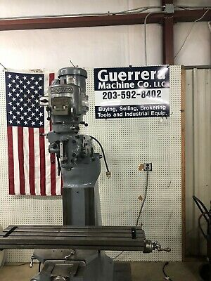 Bridgeport Vertical Milling Machine W 42 Table