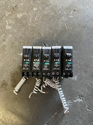 10 Pcs Eaton Brn115af Arc Fault 15a 1p Type Br Afci Circuit Breakers