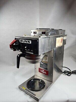 Bunn Coffee Maker Brewer Hot Water 3 Warmers Cw Series Cwtf15