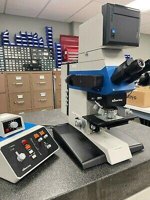 Reichert-jung Polyvar Met Microscope