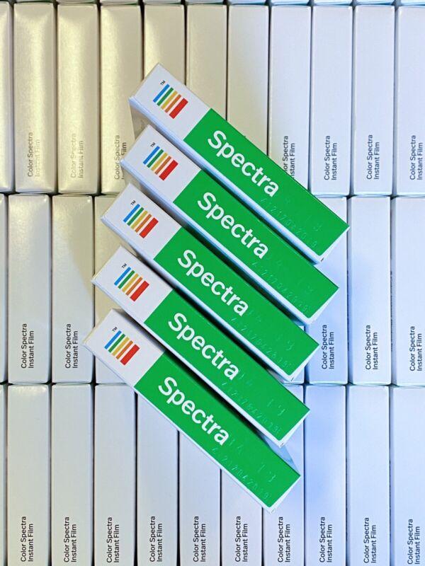 Polaroid Spectra Film: Color 5 Packs, Final Production Run, RARE!