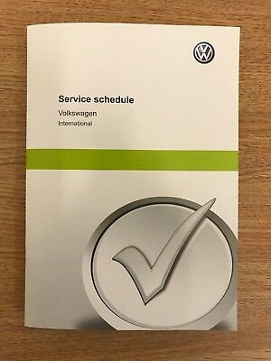 VW VOLKSWAGEN SERVICE BOOK NEW UNUSED GENUINE NOT DUPLICATE ALL VW CARS/VANS