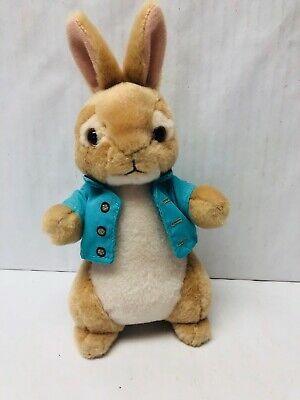 Peter Rabbit Plush Stuffed Animal Cute Easter Decor Bunny Basket Filler Present Decor Stuffed Animal