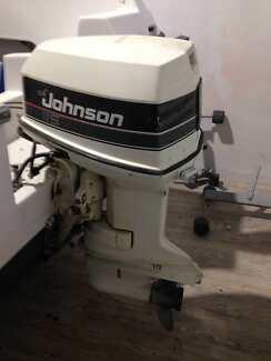 Johnson 115 hp Outboard Motor 2 Stroke Early 80's