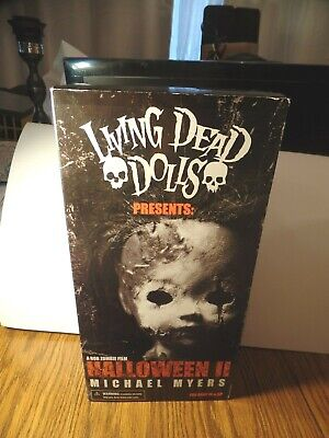 Zombie Dolls Halloween (LIVING DEAD DOLLS HALLOWEEN II MICHAEL MYERS ROB ZOMBIE Brand New Rare)