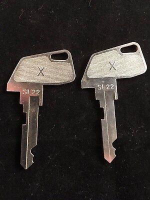 Tec Cash Register X Key Sl22 Set Of 2