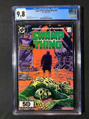 Saga of the Swamp Thing #36 CGC 9.8 (1985)