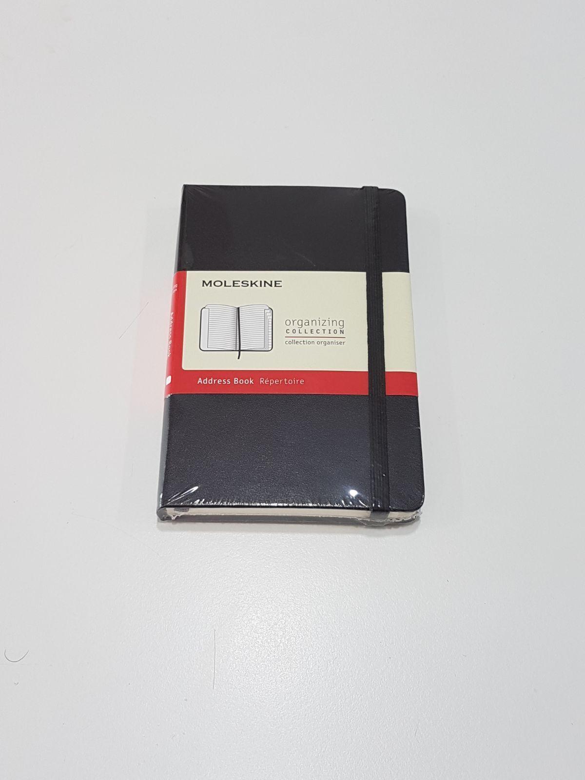 Moleskine - Address Book - Rubrica -  9x14cm - Nero - Pocket