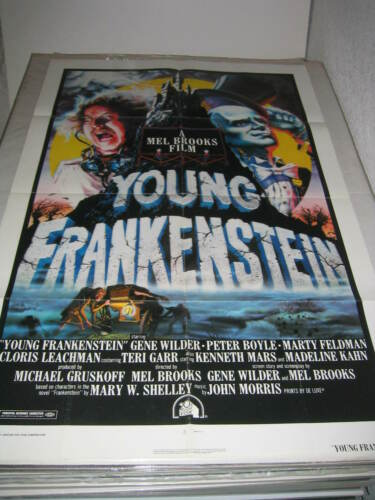 YOUNG FRANKENSTEIN (1974) US AUTHENTIC ORIGINAL 27x41 MOVIE POSTER (468)