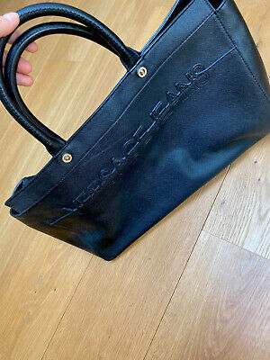 Versace Jeans Black Large Bag