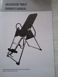 Inversion table / back stretcher Roxburgh Park Hume Area Preview