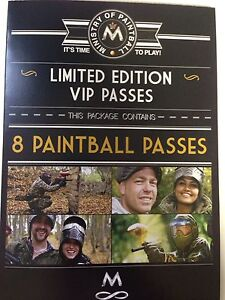 Paint ball tickets Waratah Newcastle Area Preview