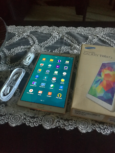 """SAMSUNG GALAXY TAB S WHITE 16GB 8.4"""" TABLET WITH BOX Merrylands Parramatta Area Preview"""