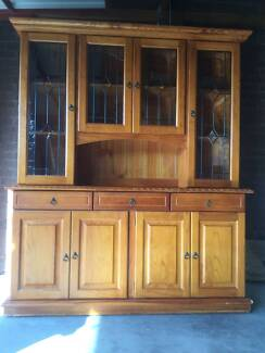 Kitchen Or Dining Room Display Cabinet And Hutch