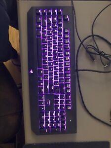 Razer Black widow Chroma RGB keyboard