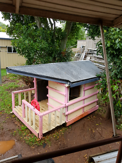 Solid cubby house