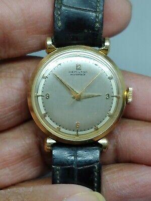 Hamilton Masterpiece Wristwatch 14K  Cal. 736 18 Jewel