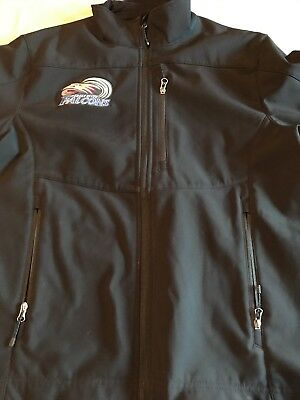Eagle River Falcons Soft Shell Jacket by Storm Creek Size Mens M Water Resistant Storm Soft Shell