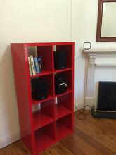 Red Lacquered Bookcase Northbridge Willoughby Area Preview