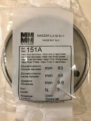 New Mazzer 151a 83mm Espresso Grinder Burrs - In Original Sealed Packaging