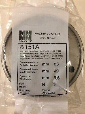 New Mazzer 151a 83mm Espresso Grinder Burrs - In Original Sealed Packaging
