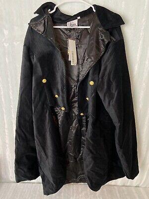 The Pirate Dressing C1277 Jacket Size XXL Steampunk Black