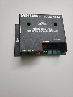 Viking Electronics Rc-2a Pic Remote Touch Tone Relay Controller