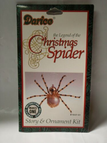 Darice The Legend of the Christmas Spider Story & Ornament Kit #1937-51