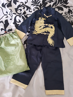 Chinese Dragon 2 piece suit, kids size 1-2, brand new