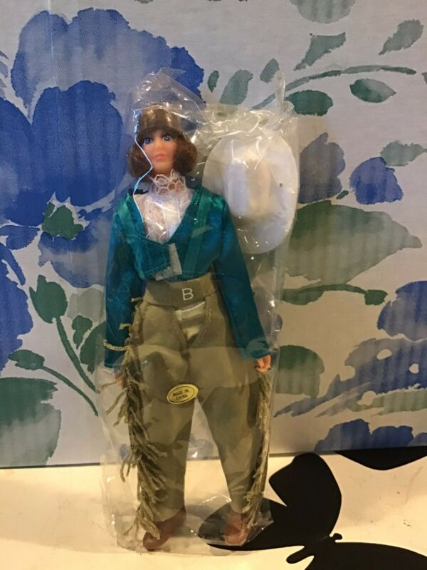 Brenda Breyer Doll Fringe Pants And Jacket And Hat New In Plastic Package