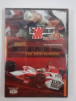 2005 Indianapolis 500 The 89th Running Collector's Edition DVD Race Dan Wheldon