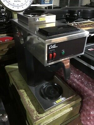 Curtis Cafe2db10a000 Coffee Brewer W 1 Lower 1 Upper Warmer Very Little Use.