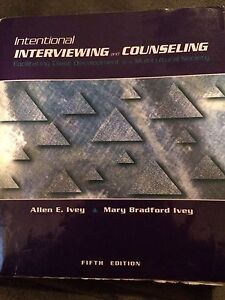 Intentional Interviewing and Counseling textbook