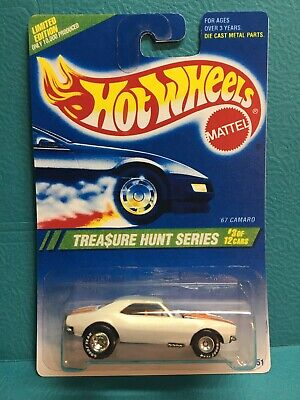 1995 hot wheels treasure hunt 67 camaro ( Quality Reproduction UPGRADED! ) #3/12